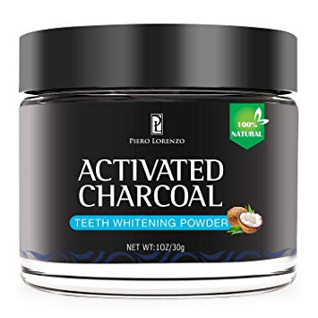 Natural Activated Coconut Charcoal Teeth Whitening Powder, Teeth Whitening Charcoal, Activated Charcoal...